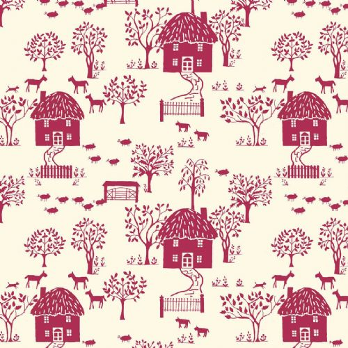 Liberty Of London Cottage Garden Collection - Cottage Lane Dark Pink
